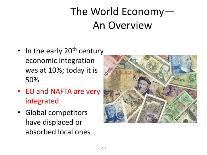The World Economy—