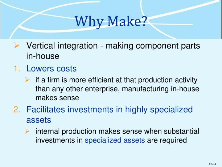 Why Make?