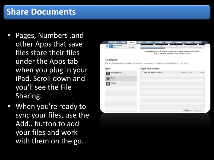 Share Documents