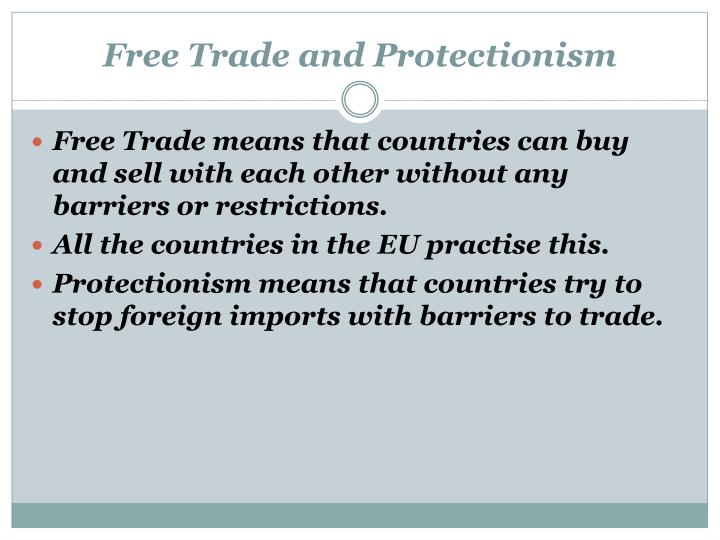 Free Trade and