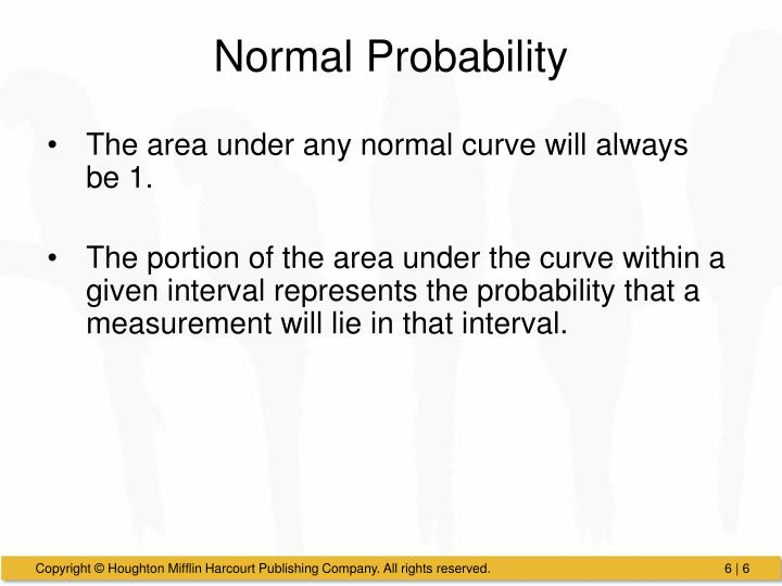 Normal Probability