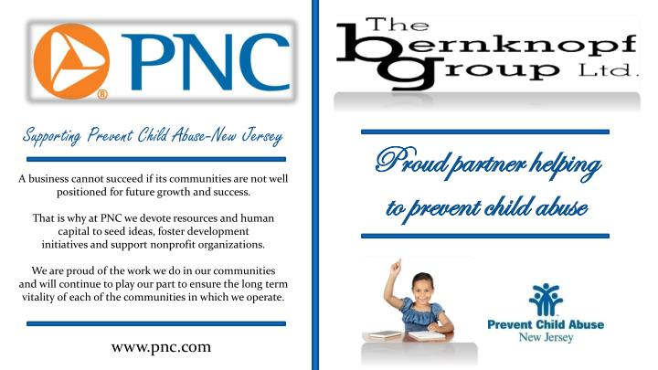 Supporting Prevent Child Abuse-New Jersey