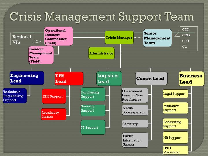 Crisis Management Support Team