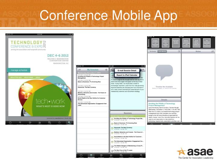 Conference Mobile App