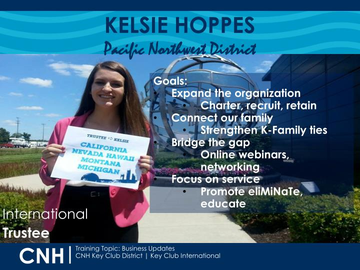 KELSIE HOPPES