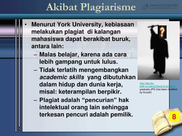 Akibat Plagiarisme