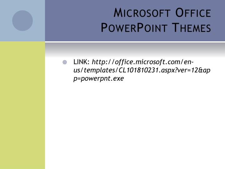 office ppt themes