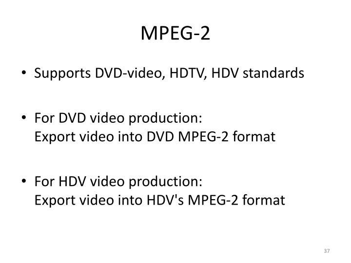 MPEG-2