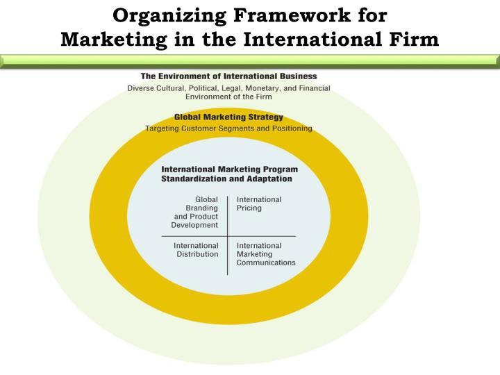 Organizing Framework for