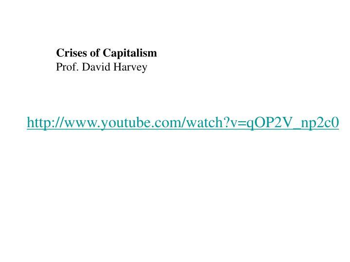 Crises of Capitalism