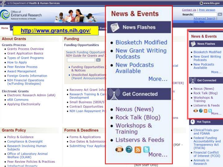 http://www.grants.nih.gov/