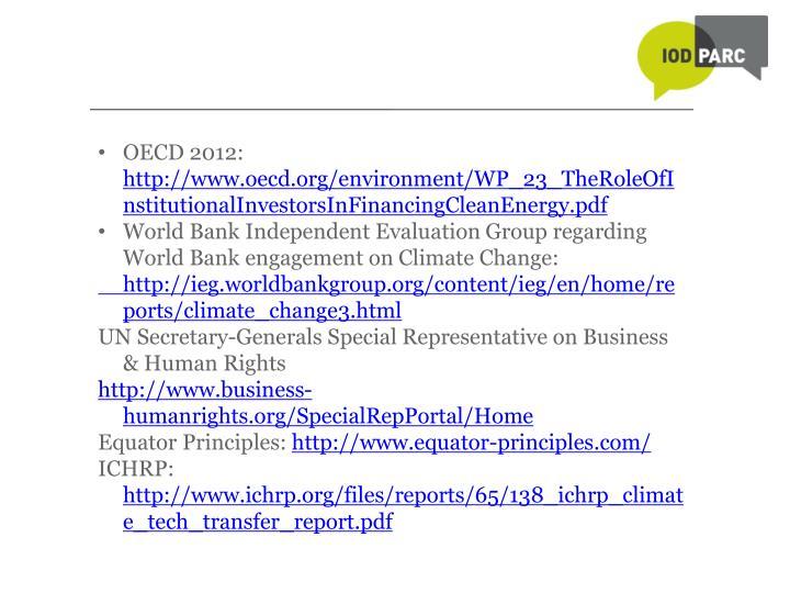 OECD 2012: