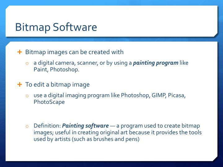 Bitmap Software