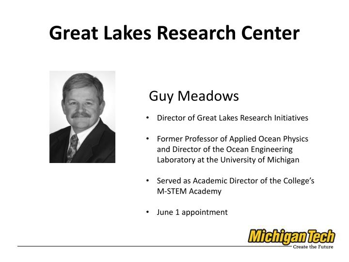Great Lakes Research Center