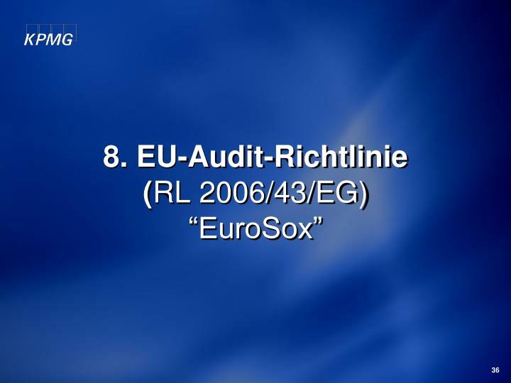 8. EU-Audit-Richtlinie
