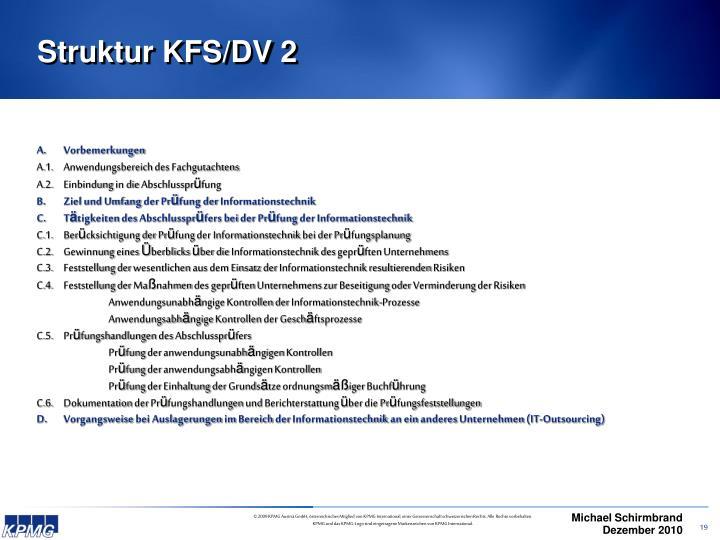 Struktur KFS/DV 2