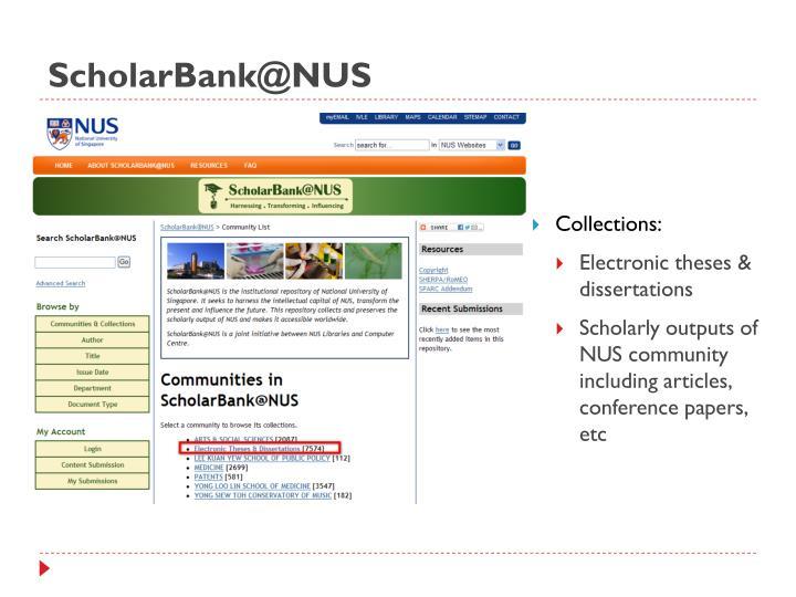 ScholarBank@NUS