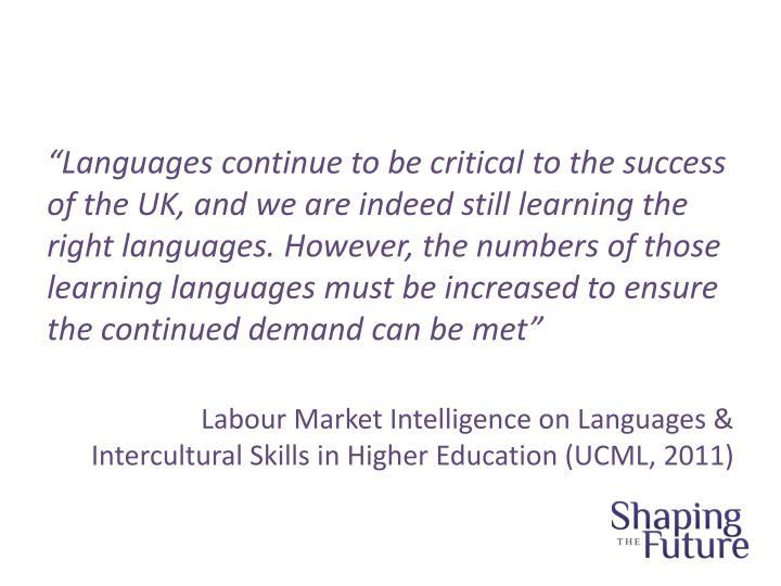 """""""Languages"""