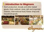 1 introduction to wegmans2