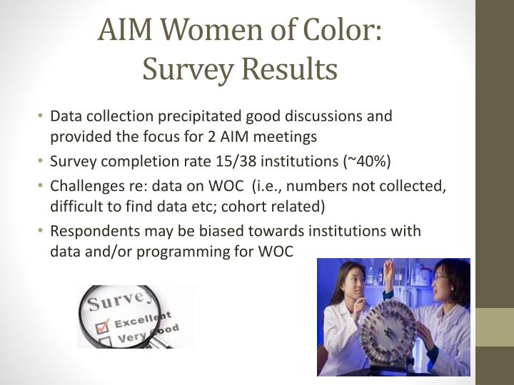 AIM Women of Color:
