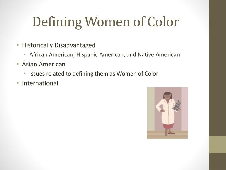Defining Women of Color