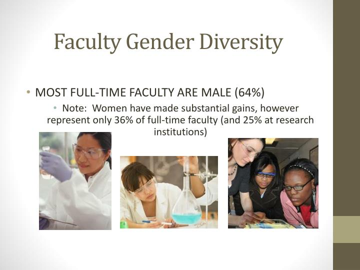 Faculty Gender Diversity