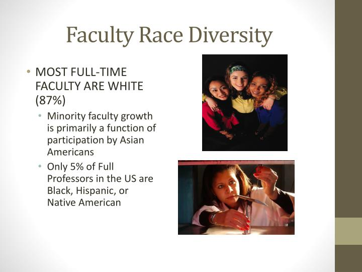 Faculty Race Diversity