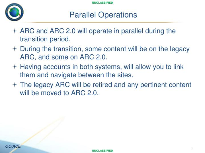 Parallel Operations