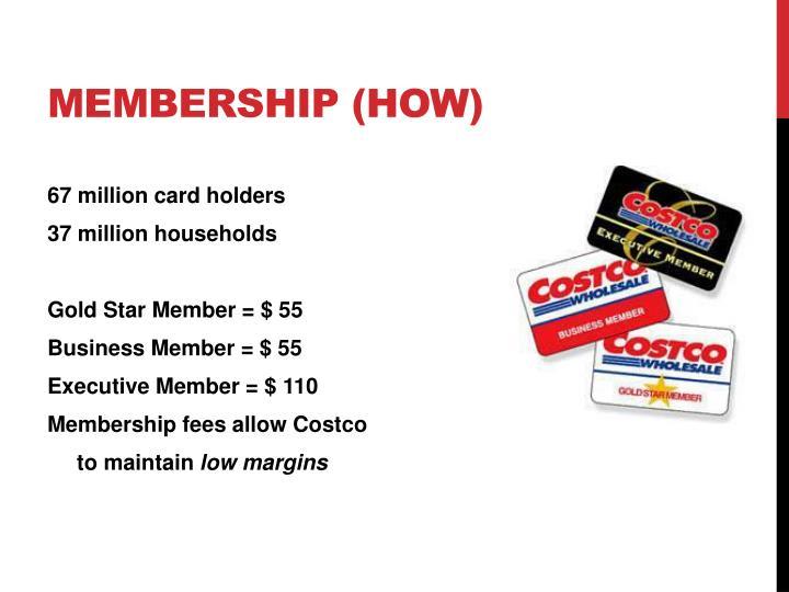 Membership (How)