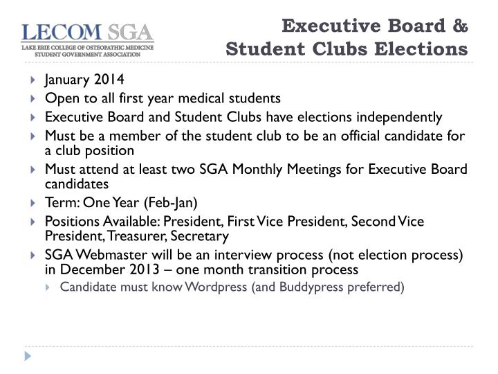 Executive Board &