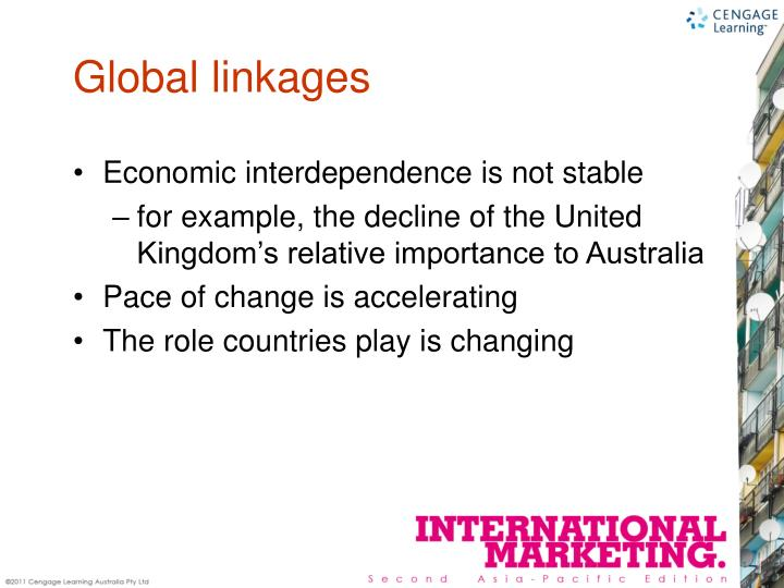 Global linkages