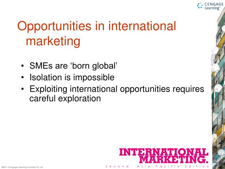 SMEs are 'born global'