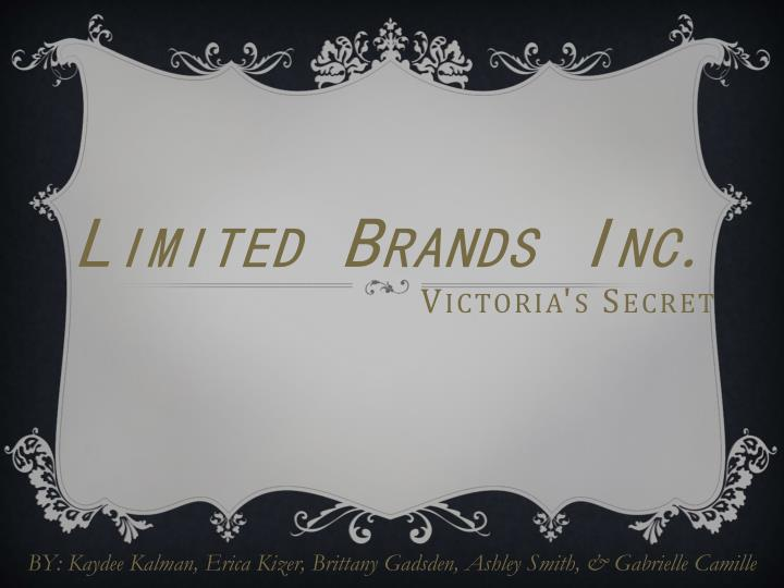Limited brands inc victoria s secret