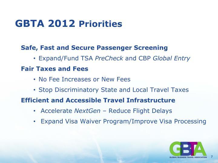 GBTA 2012
