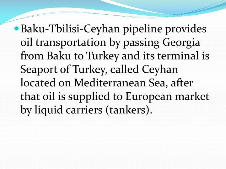 Baku-Tbilisi-