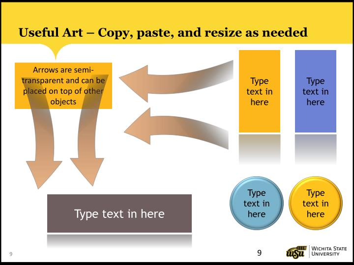 Useful Art – Copy, paste, and resize as needed
