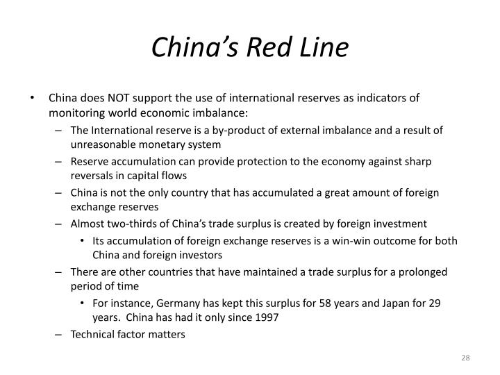 China's Red Line