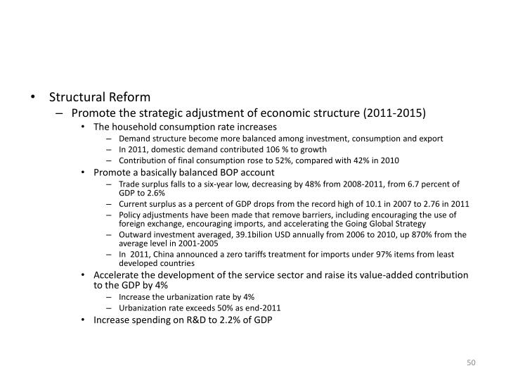 Structural Reform