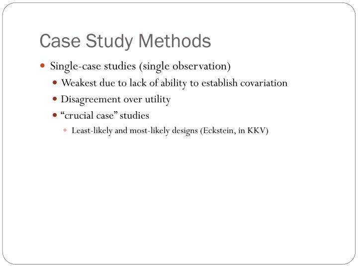 counterfactual case study
