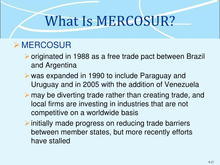 What Is MERCOSUR?