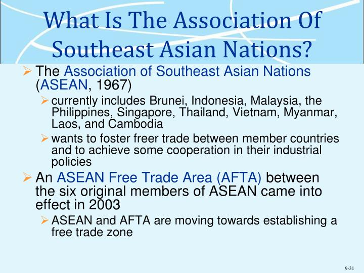 What Is The Association Of Southeast Asian Nations?