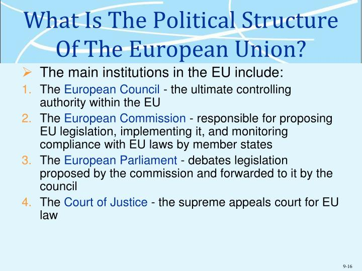 What Is The Political Structure