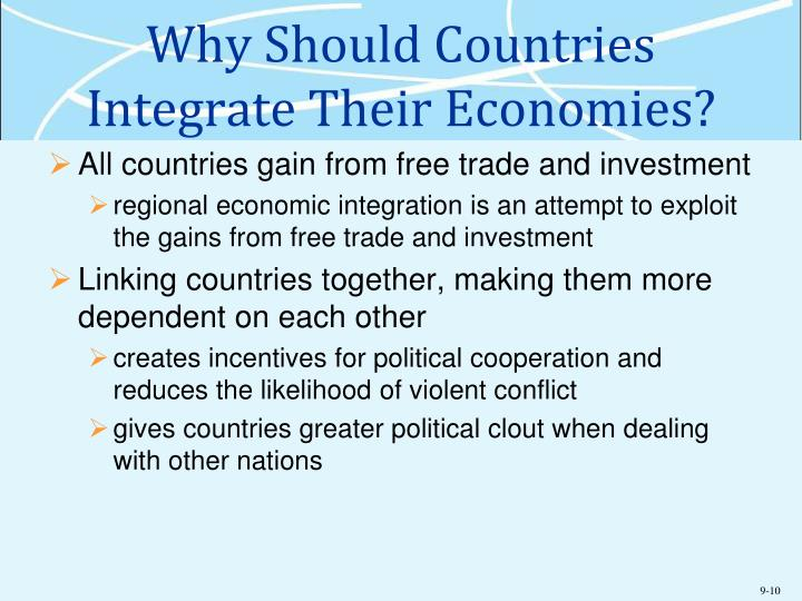 Why Should Countries