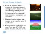 climatic change air quality1