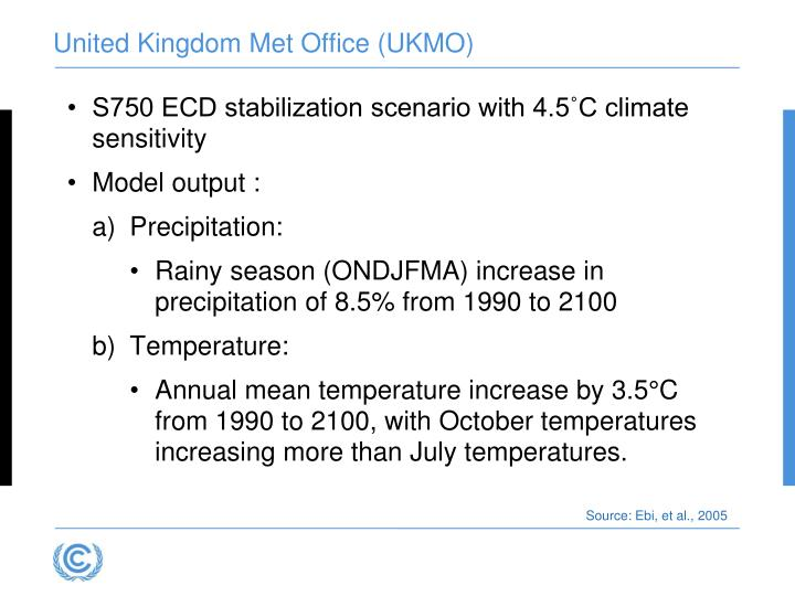 United Kingdom Met Office (UKMO)