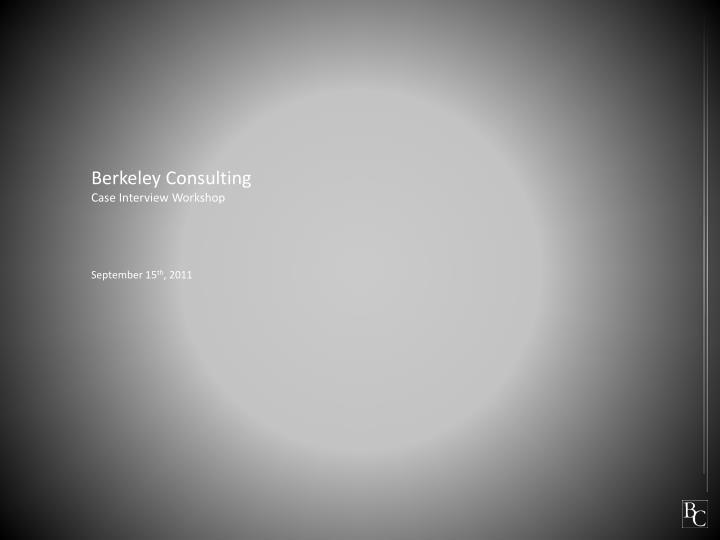 Berkeley Consulting