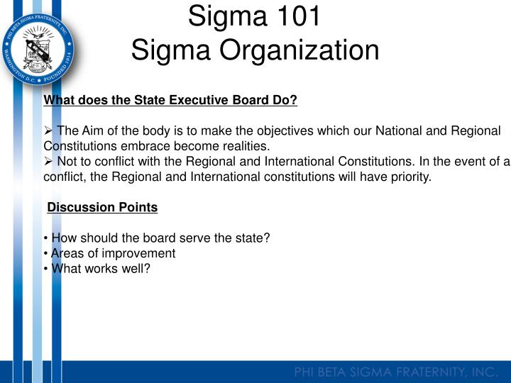 Sigma 101
