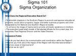 sigma 101 sigma organization13