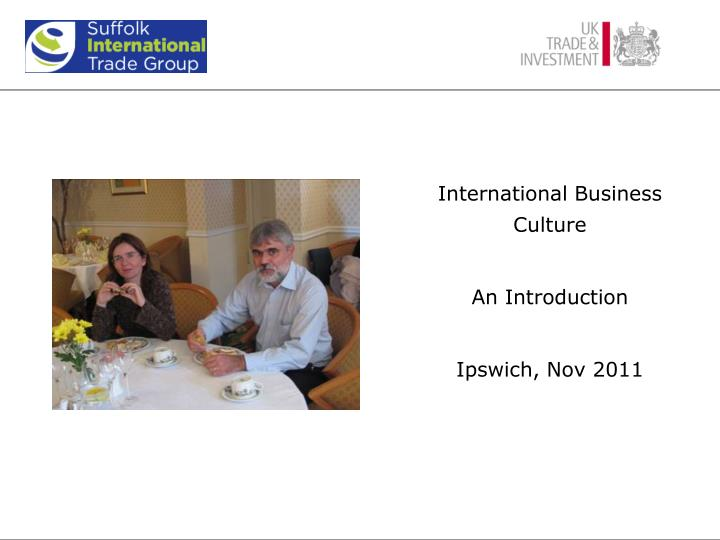 International Business Culture