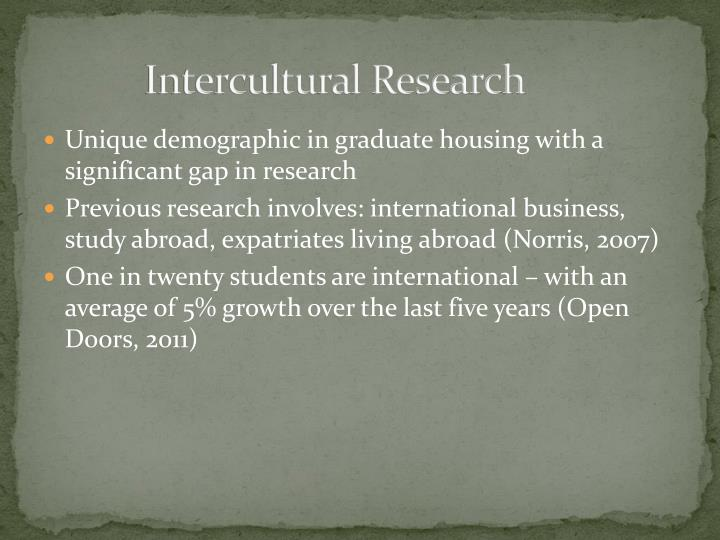 Intercultural Research